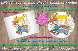 Rugrats Edible Image Frosting Sheet #9 Cake Cupcake Topper