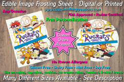 Rugrats Edible Image Frosting Sheet #10 Cake Cupcake Topper