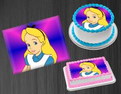 Alice in Wonderland Edible Image Frosting Sheet #5 Cake Cupcake Cookie Topper