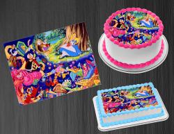 Alice in Wonderland Edible Image Frosting Sheet #10 Cake Cupcake Cookie Topper