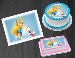 Alice in Wonderland Edible Image Frosting Sheet #27 Cake Cupcake Cookie Topper