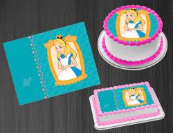 Alice in Wonderland Edible Image Frosting Sheet #41 Cake Cupcake Cookie Topper
