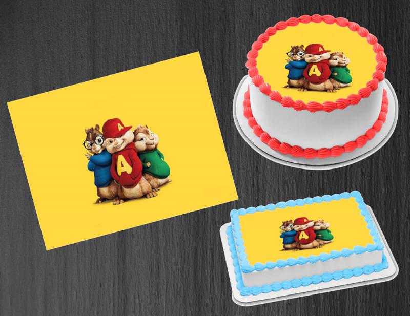 "2/"" Descendants Edible Icing Cupcake Toppers PRE-CUT Sheet of 15"
