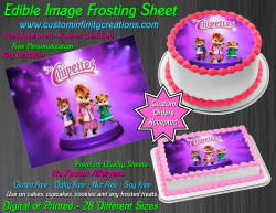 Alvin and the Chipmunks Edible Image Frosting Sheet #35 Cake Cupcake Topper