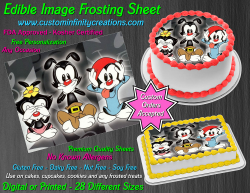 Animaniacs Edible Image Icing Frosting Sheet #2 Cake Cupcake Cookie Topper