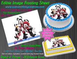 Animaniacs Edible Image Icing Frosting Sheet #5 Cake Cupcake Cookie Topper