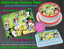 Animaniacs Edible Image Icing Frosting Sheet #12 Cake Cupcake Cookie Topper