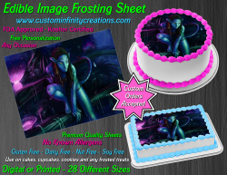 Avatar Edible Image Icing Frosting Sheet #18 Cake Cupcake Cookie Topper
