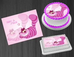 Cheshire Cat Edible Image Icing Frosting Sheet #11 Cake Cupcake Cookie Topper