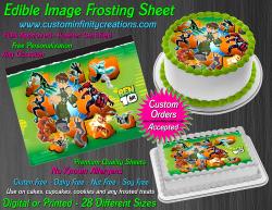 Ben 10 Edible Image Icing Frosting Sheet #9 Cake Cupcake Cookie Topper