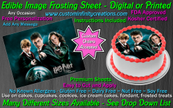 Harry Potter Edible Image Icing Frosting Sheet #44 Cake Cupcake Cookie Topper