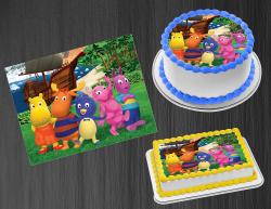 Backyardigans Edible Image Icing Frosting Sheet #1 Cake Cupcake Cookie Topper