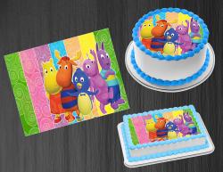 Backyardigans Edible Image Icing Frosting Sheet #3 Cake Cupcake Cookie Topper