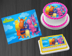 Backyardigans Edible Image Icing Frosting Sheet #6 Cake Cupcake Cookie Topper