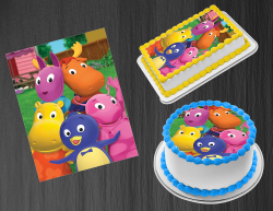 Backyardigans Edible Image Icing Frosting Sheet #8 Cake Cupcake Cookie Topper