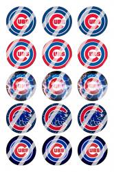 '.Chicago Cubs Image Sheet #5.'