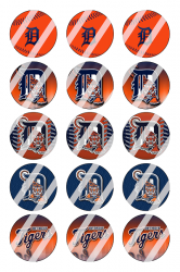 '.Detroit Tigers Image Sheet #4.'