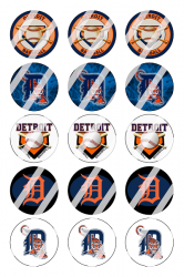 '.Detroit Tigers Image Sheet #5.'