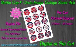 Minnesota Twins Baseball Bottle Cap 1 Circle Images #1x (digital or pre cut)