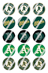 '.Oakland Athletics Sheet #1.'