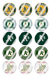 '.Oakland Athletics Sheet #2.'