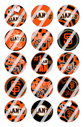 '.San Francisco Giants Sheet #1x.'
