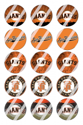'.San Francisco Giants Sheet #4.'