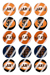 '.San Francisco Giants Sheet #5.'