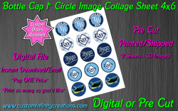 Tampa Bay Rays Baseball Bottle Cap 1 Circle Images #1 (digital or pre cut)