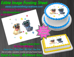 Puppy Dog Pals Edible Image Icing Frosting Sheet #1 Cake Cupcake Cookie Topper