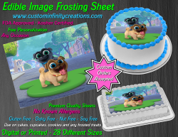 Puppy Dog Pals Edible Image Icing Frosting Sheet #2 Cake Cupcake Cookie Topper
