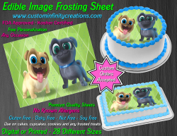 Puppy Dog Pals Edible Image Icing Frosting Sheet #3 Cake Cupcake Cookie Topper