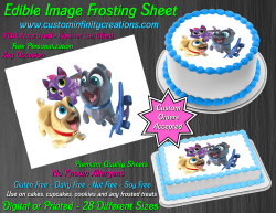 Puppy Dog Pals Edible Image Icing Frosting Sheet #4 Cake Cupcake Cookie Topper