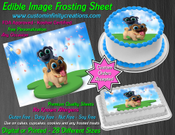 Puppy Dog Pals Edible Image Icing Frosting Sheet #5 Cake Cupcake Cookie Topper