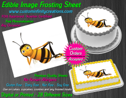 Bee Movie Edible Image Icing Frosting Sheet #19 Cake Cupcake Cookie Topper