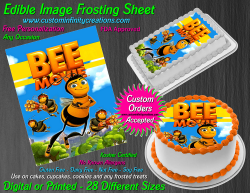 Bee Movie Edible Image Icing Frosting Sheet #37 Cake Cupcake Cookie Topper