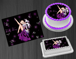 Betty Boop Edible Image Icing Frosting Sheet #11 Cake Cupcake Cookie Topper