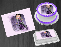 Betty Boop Edible Image Icing Frosting Sheet #36 Cake Cupcake Cookie Topper