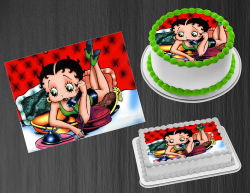Betty Boop Edible Image Icing Frosting Sheet #39 Cake Cupcake Cookie Topper