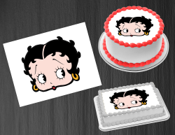 Betty Boop Edible Image Icing Frosting Sheet #92 Cake Cupcake Cookie Topper