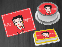 Betty Boop Edible Image Icing Frosting Sheet #95 Cake Cupcake Cookie Topper