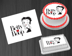 Betty Boop Edible Image Icing Frosting Sheet #98 Cake Cupcake Cookie Topper