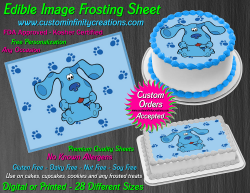 Blues Clues Edible Image Icing Frosting Sheet #2 Cake Cupcake Cookie Topper