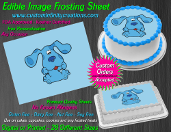 Blues Clues Edible Image Icing Frosting Sheet #6 Cake Cupcake Cookie Topper