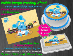Blues Clues Edible Image Icing Frosting Sheet #7 Cake Cupcake Cookie Topper