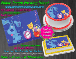Blues Clues Edible Image Icing Frosting Sheet #8 Cake Cupcake Cookie Topper