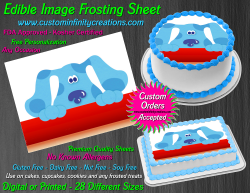 Blues Clues Edible Image Icing Frosting Sheet #9 Cake Cupcake Cookie Topper