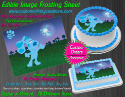Blues Clues Edible Image Icing Frosting Sheet #13 Cake Cupcake Cookie Topper