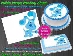Blues Clues Edible Image Icing Frosting Sheet #15 Cake Cupcake Cookie Topper
