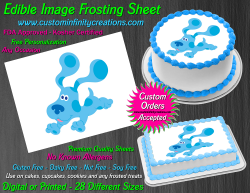 Blues Clues Edible Image Icing Frosting Sheet #19 Cake Cupcake Cookie Topper